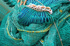 Fischnetz Stockfotos