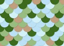 Fischschuppemuster, abstrakter Vektor auf Lager, Farbbeschaffenheit, helle Farbe, Lizenzfreie Stockfotografie