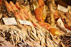 Fischstand Lizenzfreies Stockbild