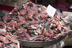 Fischsteaks Lizenzfreies Stockbild
