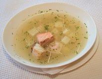 Fischsuppe stockbild