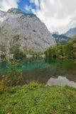 Fischunkelalm inminente en el Obersee Fotografía de archivo