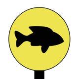 Fischzeichen Lizenzfreie Stockbilder