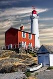 Fisgard latarnia morska, Wiktoria BC Obrazy Royalty Free