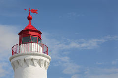 Fisgard Light Close Up, Victoria Stock Photo