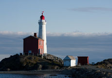 Fisgard Lighthouse. At Fort Rodd Hill in Victoria, BC, Canada Stock Images
