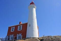 Fisgard Lighthouse , Canada. Fisgard lighthouse on Vancouver Island, Canada Stock Image