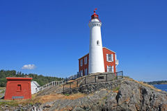 Fisgard Lighthouse, Canada Royalty Free Stock Images
