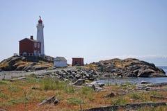 Fisgard Lighthouse, Vancouver Island. Fisgard lighthouse on the coast of Vancouver Island, Canada Stock Photo