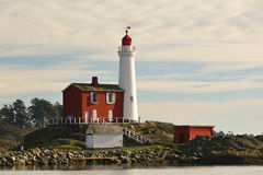 Fisgard lighthouse,Fort Rodd hill historic national park,Victoria BC,Canada Royalty Free Stock Images