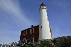 Fisgard lighthouse,Fort Rodd hill historic national park,Victoria BC,Canada Royalty Free Stock Photos