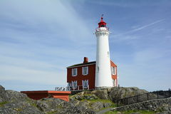 Fisgard lighthouse,Fort Rodd hill historic national park,Victoria BC,Canada Stock Images
