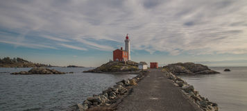 Fisgard Lighthouse Stock Photography