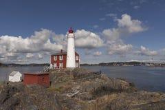 Fisgard lighthouse Royalty Free Stock Photos