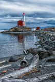 Fisgard Lighthouse, Victoria, BC BB134213. This is an image of the historical Fisgard Lighthouse located in Victoria, British Columbia, Canada Stock Image
