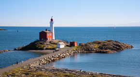 Fisgard Lighthouse, Victoria, BC Royalty Free Stock Photo
