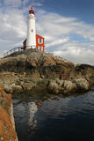 Fisgard Lighthouse, Victoria, British Columbia Royalty Free Stock Photo