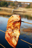 Fish. Are dried in a park Stock Photo