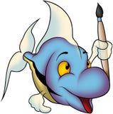 Fish 43 painter Royalty Free Stock Photo