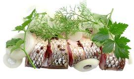 Fish. Fresh fish isolated on white Royalty Free Stock Image