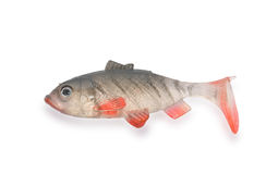 Fish. Ing tackle insulated on � white background Stock Photos