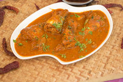 Fish ambot tik is a sour and spicy curry from goa, India. Stock Image