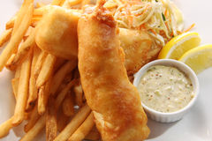 Free Fish And Chips Stock Photography - 13164662