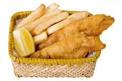 Free Fish And Chips Royalty Free Stock Photos - 2429628