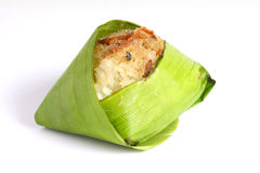 Fish And Suger On Sticky Rice Royalty Free Stock Photo