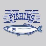 Fish animal in the beauty sea design. Vector illustration Stock Photos
