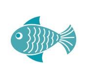 Fish animal isolated icon. Illustration design Stock Photography