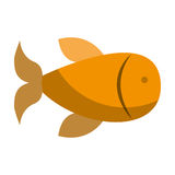 Fish animal isolated icon. Vector illustration design Royalty Free Stock Photos