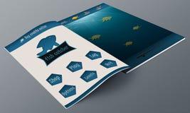 Fish app Magazine Royalty Free Stock Image
