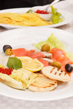 Fish appetizer Stock Photo