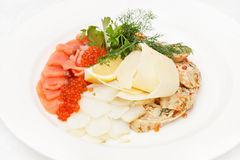 Fish appetizer Royalty Free Stock Image