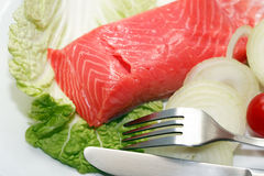 Fish Appetizer Royalty Free Stock Photos