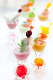 Fish appetizers Stock Image