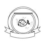 Fish in aquarium pet Stock Image