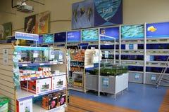 Fish in Aquariums Stock Photos