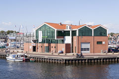 Fish auction hall of Urk Royalty Free Stock Images