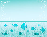 Fish  background. Royalty Free Stock Image