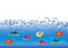 Fish Background Royalty Free Stock Photos