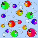 Fish Background Illustration Royalty Free Stock Photos