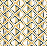 Fish background pattern yellow gray. Vector illustration Royalty Free Stock Photography