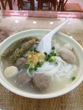 Fish ball noodle in Guangzhou royalty free stock images