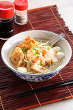 Fish ball Noodles Stock Images