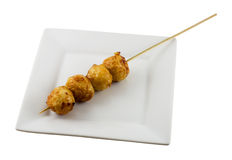 Fish Ball Skewer Stock Photo