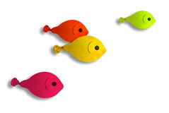Fish balloon Stock Photography