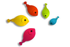 Fish balloon Stock Images