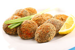 Fish balls Stock Images